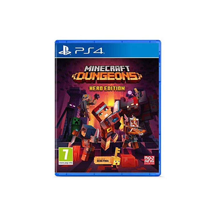 Minecraft Dungeons - Hero Edition (PS4) (New)