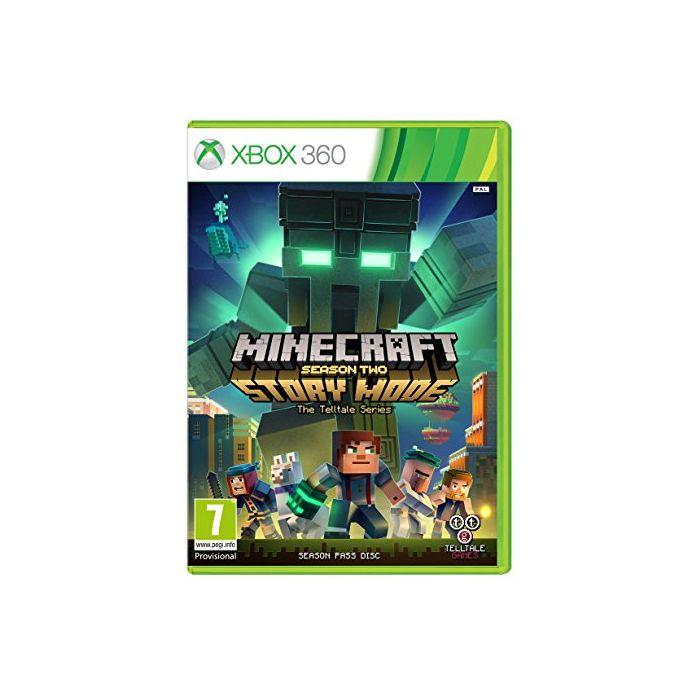 Minecraft Story Mode - Season 2 Pass Disc (Xbox 360) (Preowned)