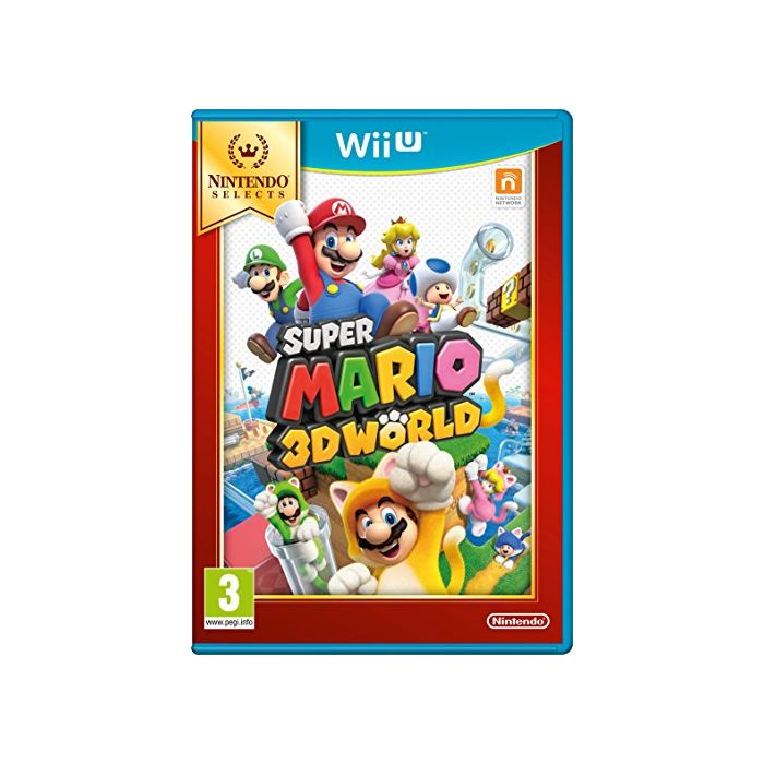Super Mario 3D World Selects (Nintendo Wii U) (Preowned)