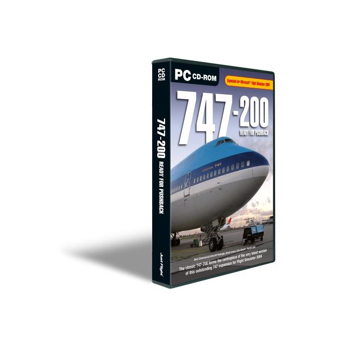 747-200 Ready for Pushback (PC CD) (Preowned)