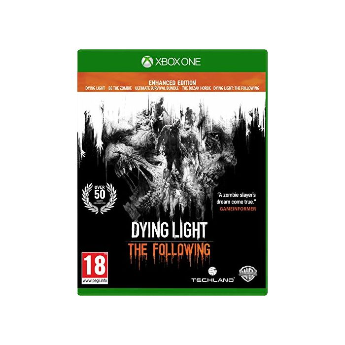 Dying Light: The Following Enhanced Edition (Xbox One) (Preowned)