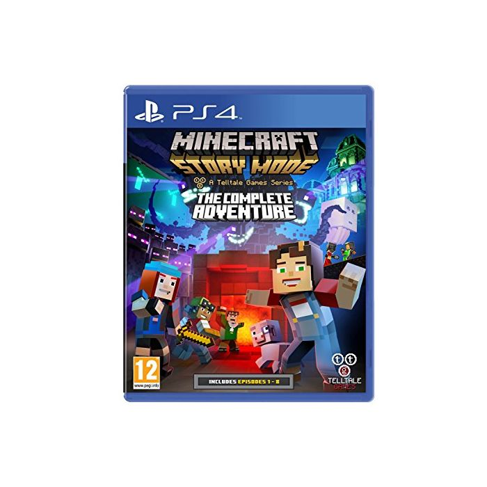 Minecraft Story Mode Complete Adventure (PS4) (Preowned)
