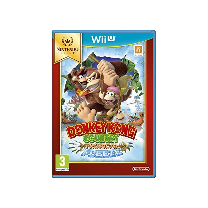 Donkey Kong Country: Tropical Freeze Select (Nintendo Wii U) (Preowned)