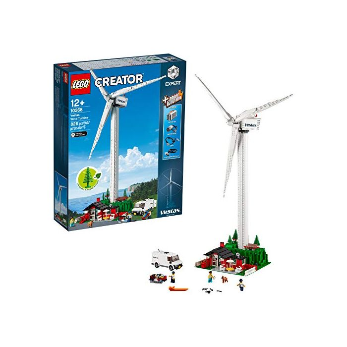 Lego 10268 Creator Expert Vestas Wind Toy Turbine Building Set (New)