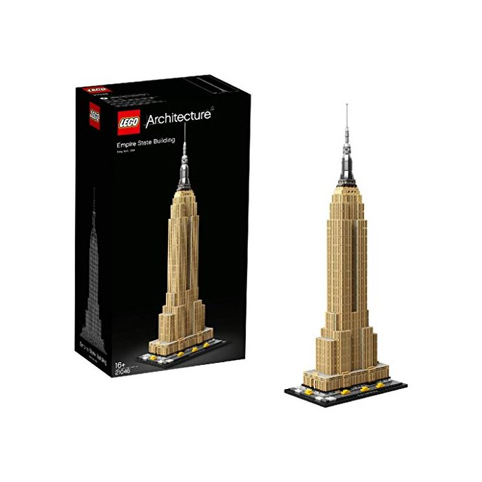 LEGO 21046 Architecture Empire State Building New York Landmark Collectible Model Building Set (New)