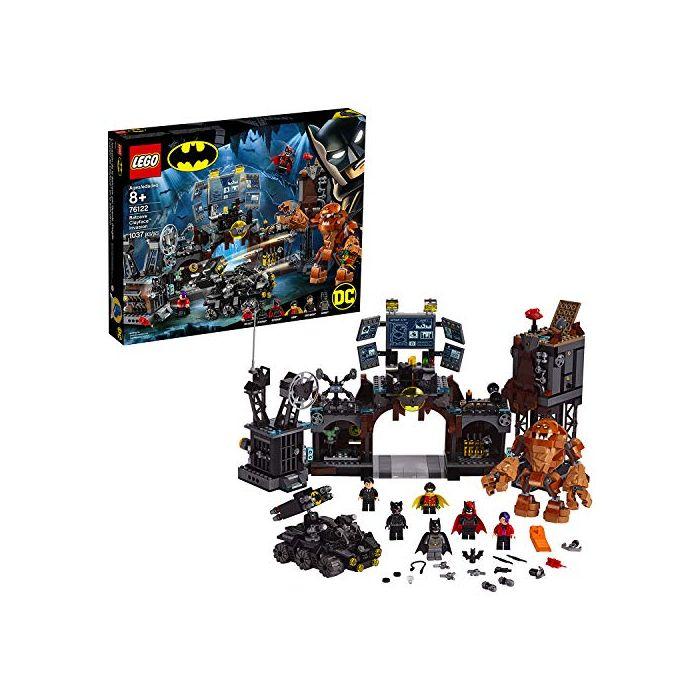 LEGO 76122 DC Batman Batcave Clayface Invasion Collectible Super Heroes Building Toys (New)