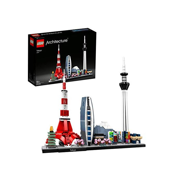 LEGO 21051 Architecture Tokyo Model, Skyline Collection, Collectible Building Set (New)