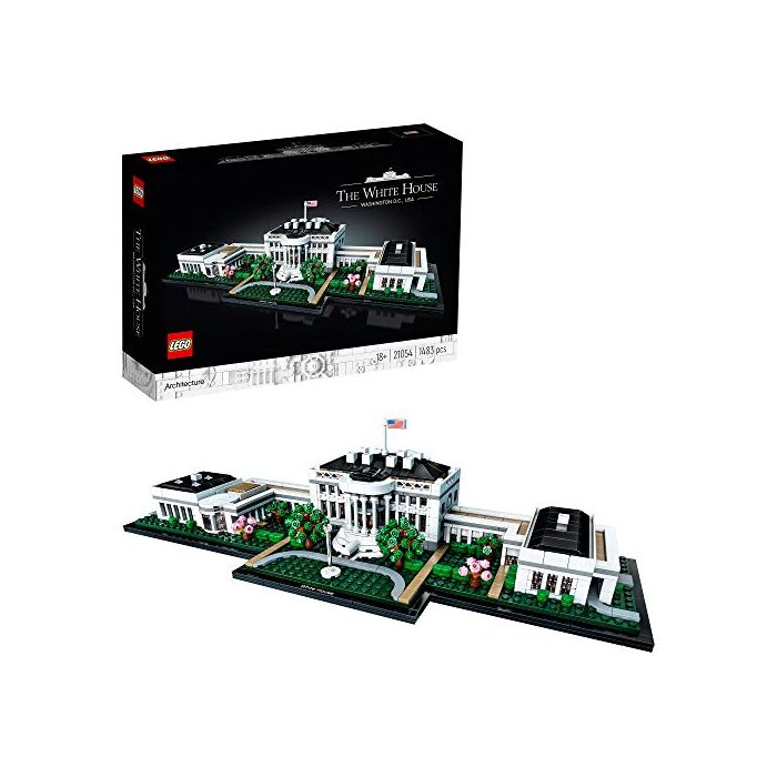 LEGO 21054 Architecture The White House Model, Landmark Collection for Adults, Collectible Gift Idea (New)
