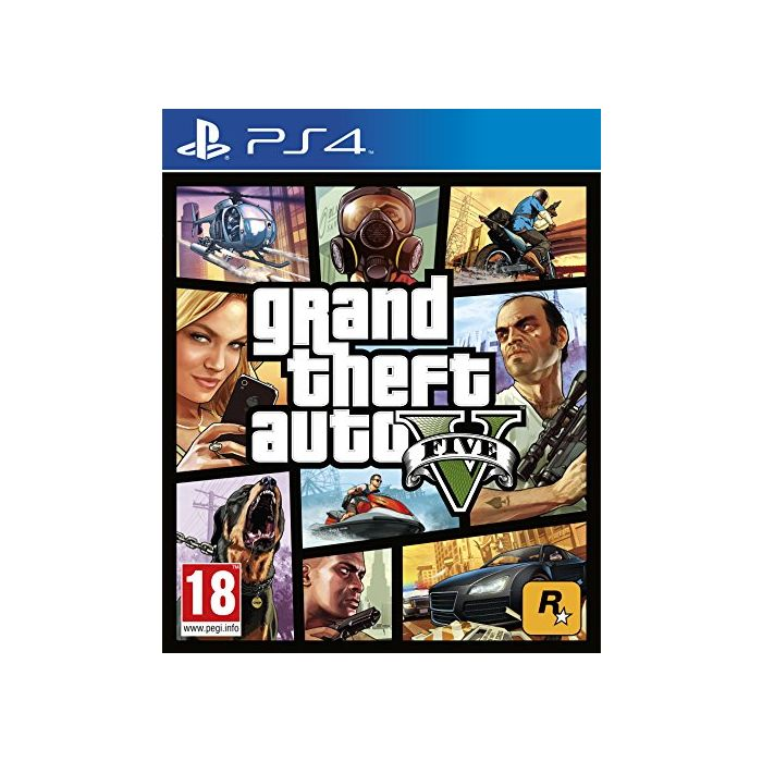 Grand Theft Auto V (5) (PS4) (Preowned)
