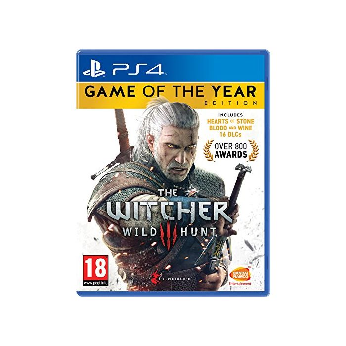 The Witcher 3 Game of the Year Edition (PS4) (Preowned)