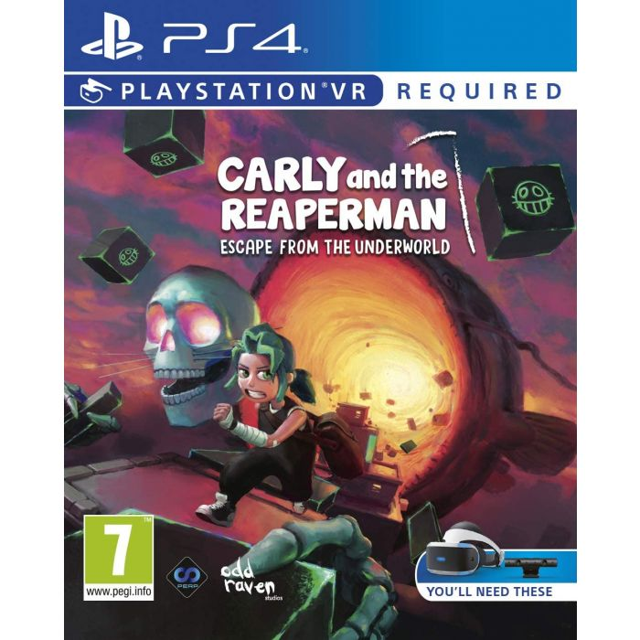 Carly and The Reaper Man (PS4) (New)