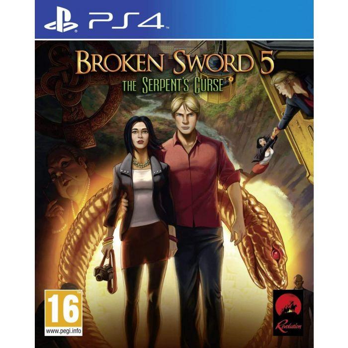 Broken Sword 5: The Serpent's Curse (PS4) (New)