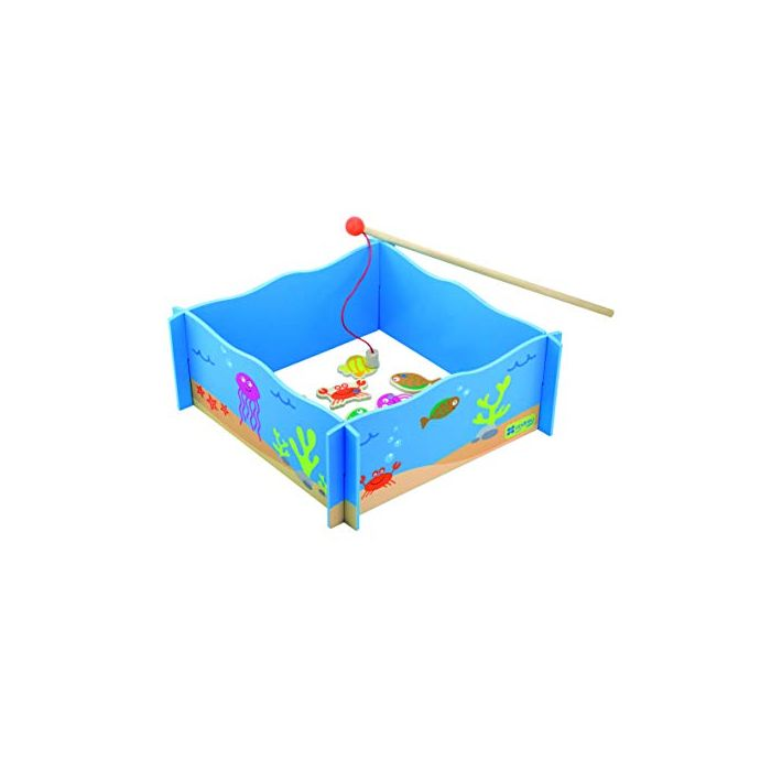 Andreu Toys 16305 Fishing Game, Multicolour, 28 x 28 x 12 cm (New)