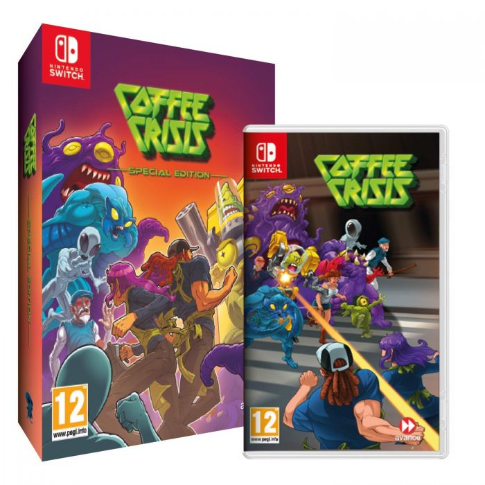 Coffee Crisis: Special Edition (Nintendo Switch) (New)