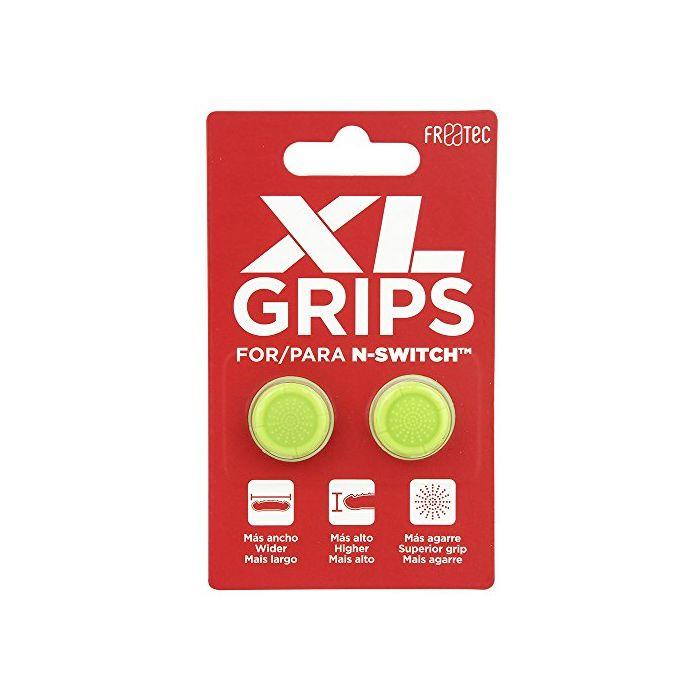 Thumb Grips Pro XL - Neon Yellow (Nintendo Switch) (New)