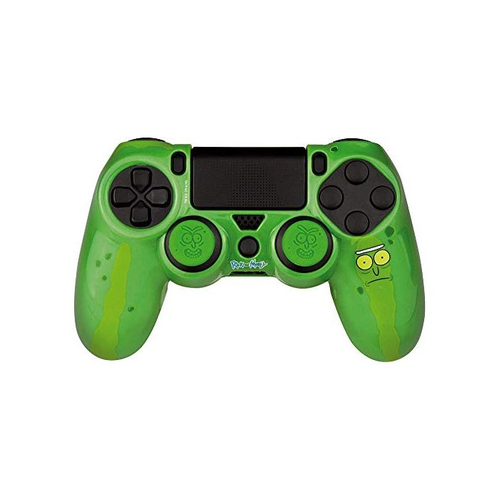 Rick and Morty Combo Pack Pickle Rick (Hard Case, Thumb Grips, Sticker) (PS4) (New)