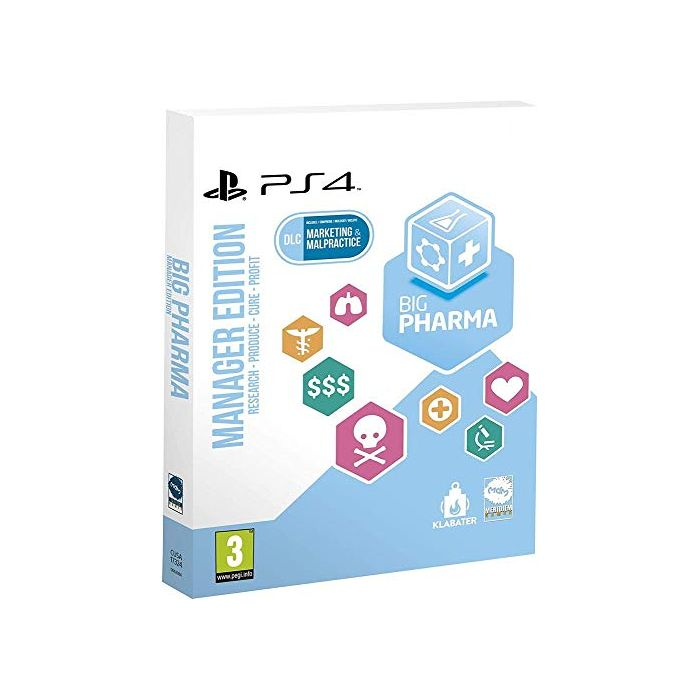 Big Pharma - Special Edition (PS4) (New)