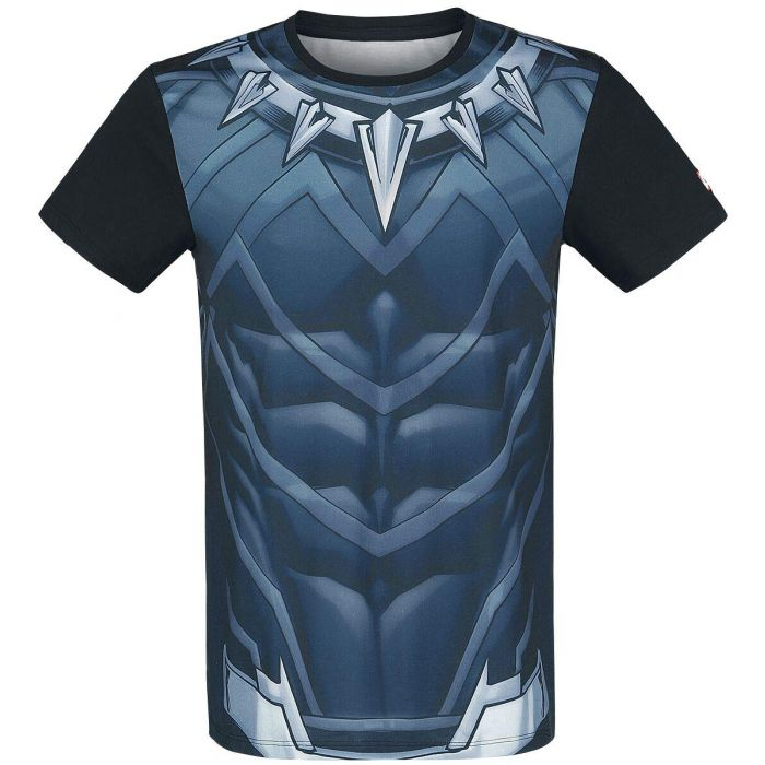 Black Panther Cosplay T-Shirt Multicolour XXL (New)