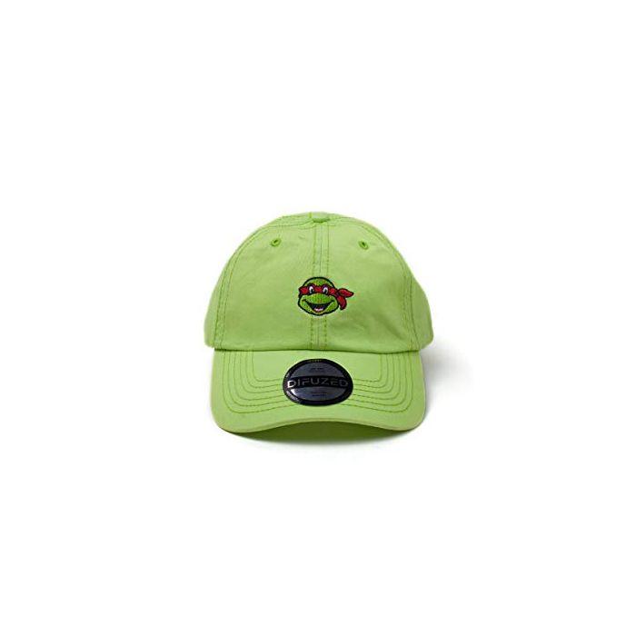 Teenage Mutant Cap Ninja Turtles - Raphael Dad Cap Green (New)