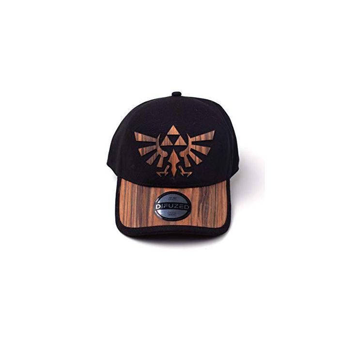 ZELDA - WOODEN SEAMLESS HYRULE CAP (New)