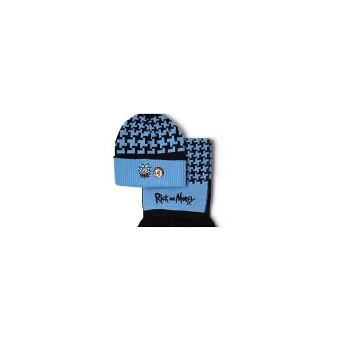 Rick and Morty - Beanie & Scarf Giftset (New)