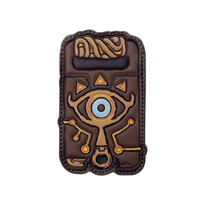 Zelda Nintendo Breath of The Wild Link Sheikah Slate Card Wallet, (MW860283BOW) Coin Pouch, 16 cm, Brown (New)