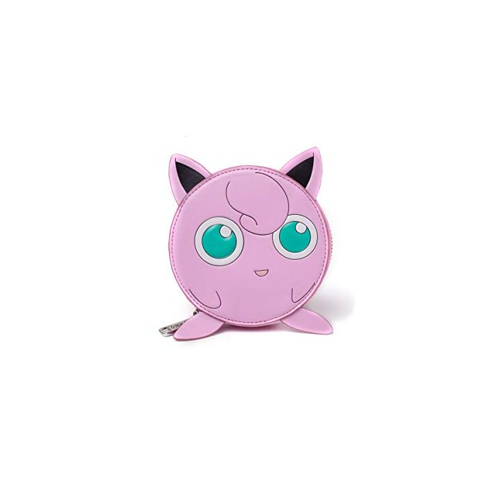 Nintendo Pokemon Jigglypuff Coin Purse with All-Round Zip, Female, One Size, Pink (GW130210POK) Coin Pouch (New)