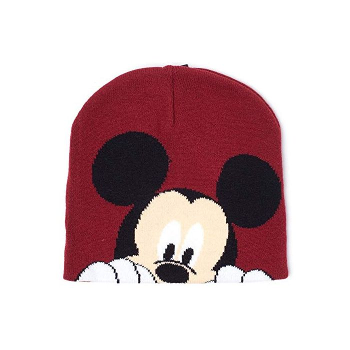 Mickey Mouse Beanies Disney Magic Jacquard Beanie Brown (New)