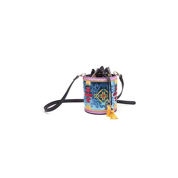 Disney - Aladdin - Magic Carped Glitter Drawstring Bucket Bag (New)