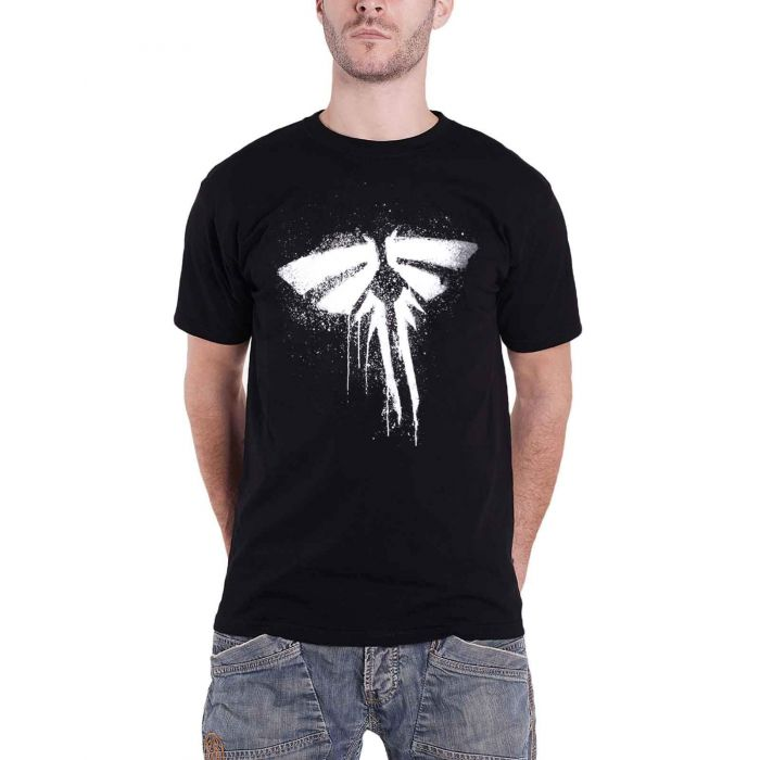 The Last Of Us Firefly T-Shirt Black L (New)