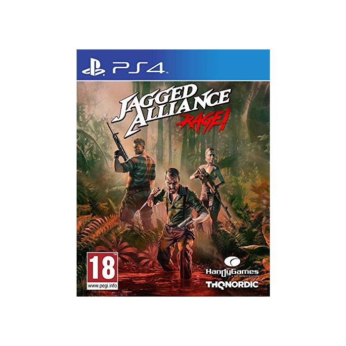 Jagged Alliance Rage (PS4) (New)