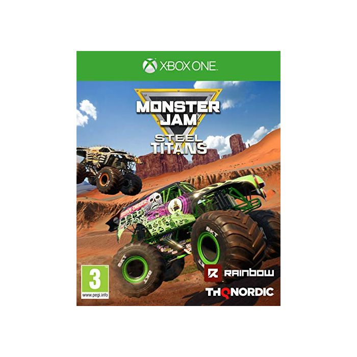 Monster Jam: Steel Titans (Xbox One) (New)
