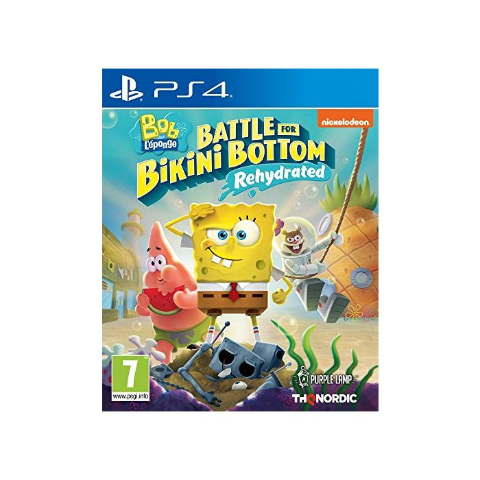SpongeBob Squarepants: Battle For Bikini Bottom - Rehydrated (PS4) (New)