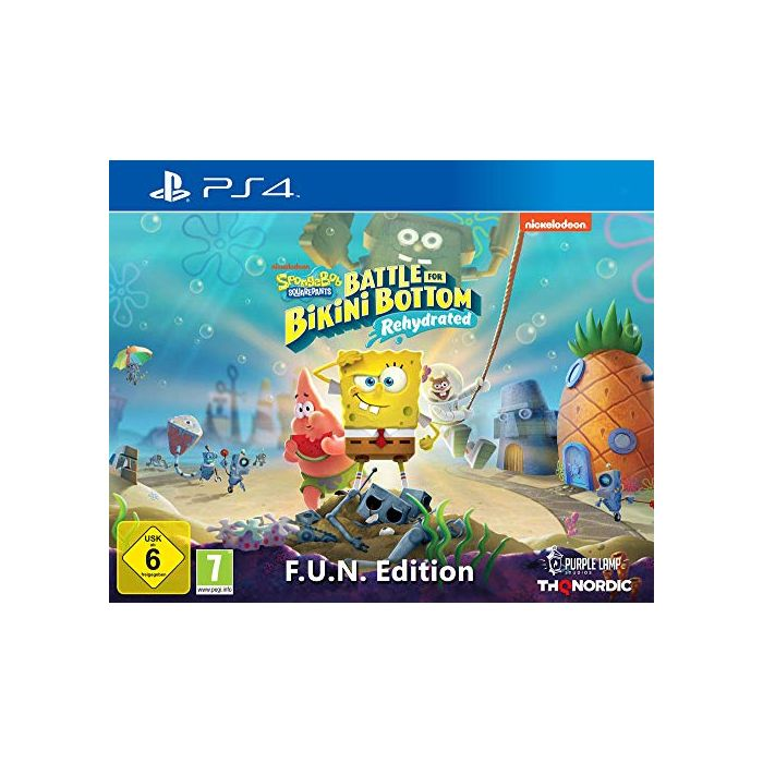 SpongeBob Squarepants: Battle For Bikini Bottom - Rehydrated - F.U.N. Edition (PS4) (New)