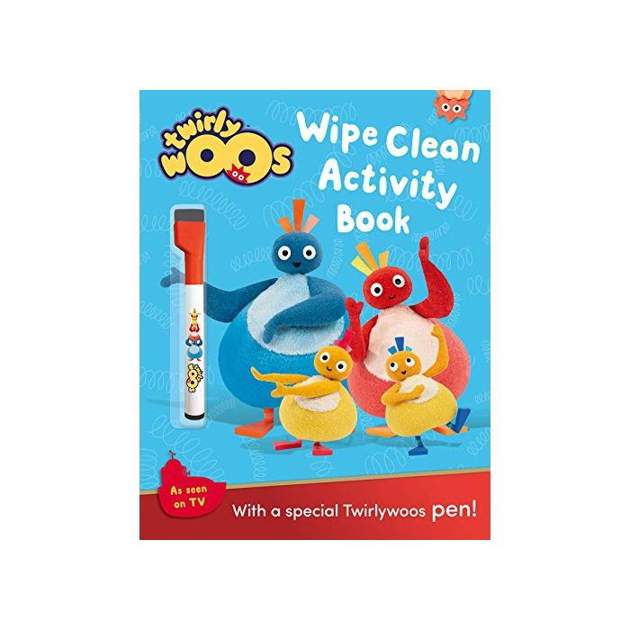 Wipe Clean Activity Book (Twirlywoos) (New)