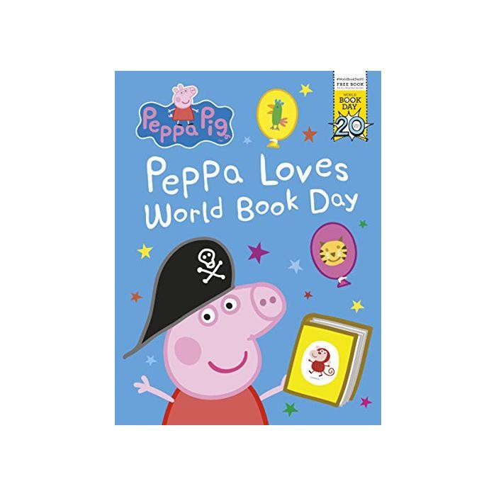 Peppa Pig: Peppa Loves World Book Day (New)