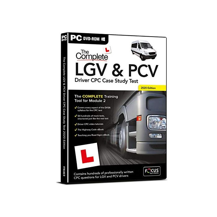 The Complete LGV and PCV Driver CPC Case Study Test (New)
