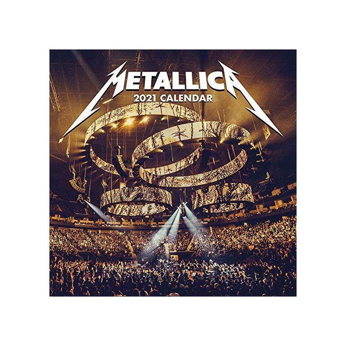 Metallica 2021 Unisex Wall Calendar multicolour, Paper, (New)