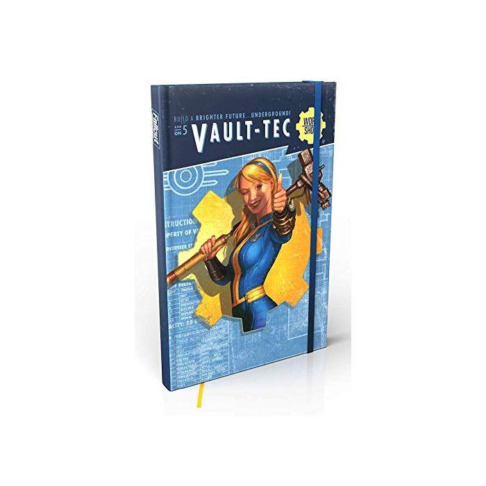 Fallout Wasteland Warfare Vault Tec Notebook Digest Notebook Supp. (New)