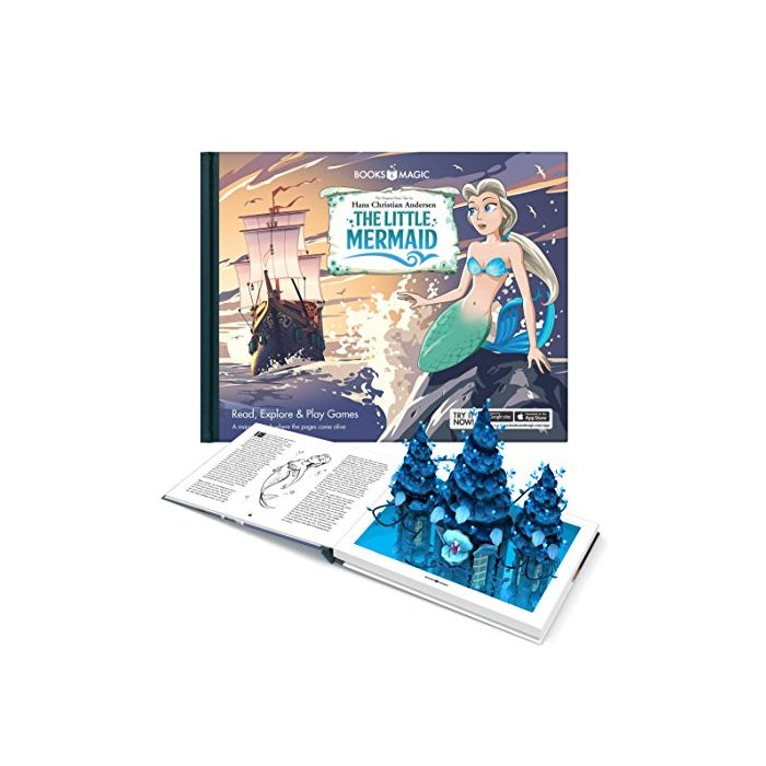 The Little Mermaid - A Magical Augmented Reality Book (New)