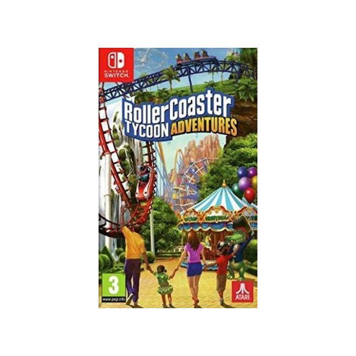 Rollercoaster Tycoon Adventures (Nintendo Switch) (New)