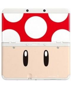 Nintendo Official Cover Plate for New 3DS - Red Toad /3DS (New)
