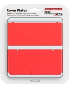 Nintendo Official Cover Plate for New 3DS - Red /3DS (New)