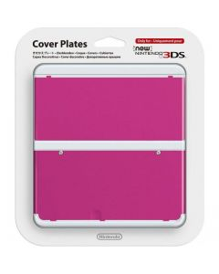 Nintendo Official Cover Plate for New 3DS - Pink /3DS (New)