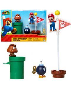 Super Mario Acorn Plains Diorama Set (New)