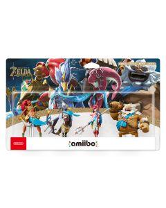 The Champions Amiibo - The Legend of Zelda: Breath of the Wild Collection (Nintendo Wii U/Nintendo 3DS/Nintendo Switch) (New)