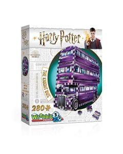 Wrebbit 3D W3D-0507 Harry Potter The Knight Bus 3D Puzzle - 280 pieces (New)