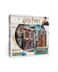 Wrebbit 3D Puzzle Harry Potter Diagon Alley Puzzle (New)