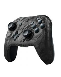 PDP Controller Faceoff Deluxe+ Audio Wireless Switch Camo Black (New)