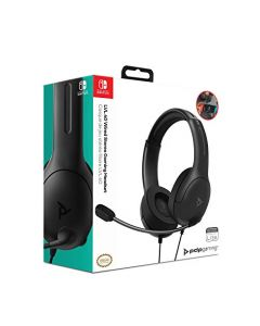 PDP Headset LVL40 Stereo Nintendo Switch Black (New)